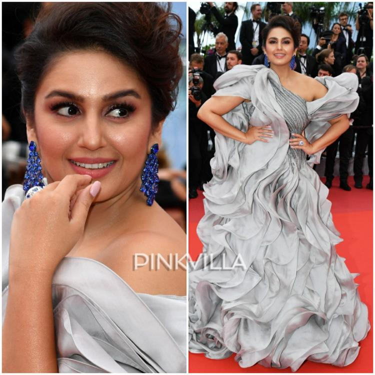 Cannes 2019: Huma Qureshi hits the red carpet in a grey ruffled Gaurav Gupta gown: Yay or Nay?