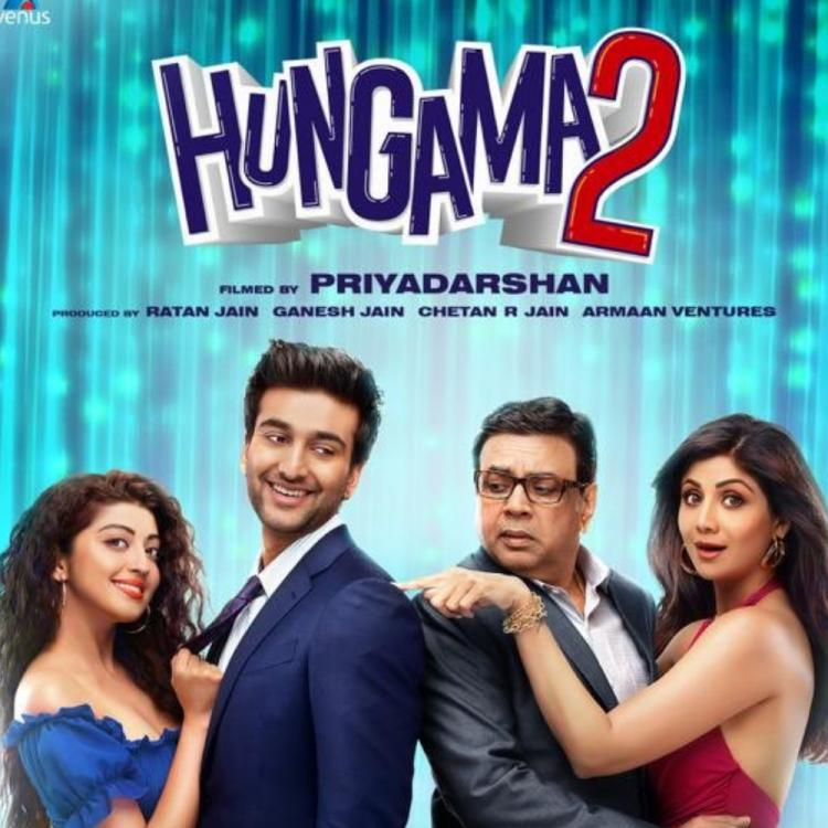 Hungama 2 First Look Poster: Shilpa Shetty & Paresh Rawal's film to release in 2020