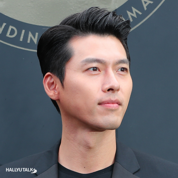 Actor Hyun Bin at the celebration of the 50th anniversary of Moon Landing