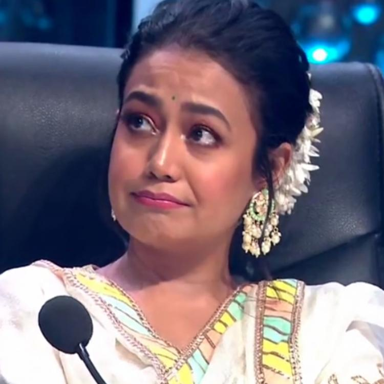 Indian Idol 11 judge Neha Kakkar gets emotional on the sets of the reality singing show; Here's Why
