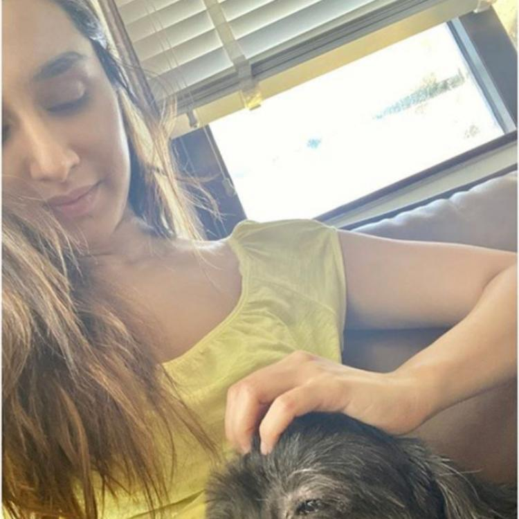 International Dog Day: Shraddha Kapoor lovingly plays with pet Shyloh & thanks him for coming into her life
