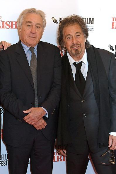 Al Pacino talks about his friendship with Robert De Niro