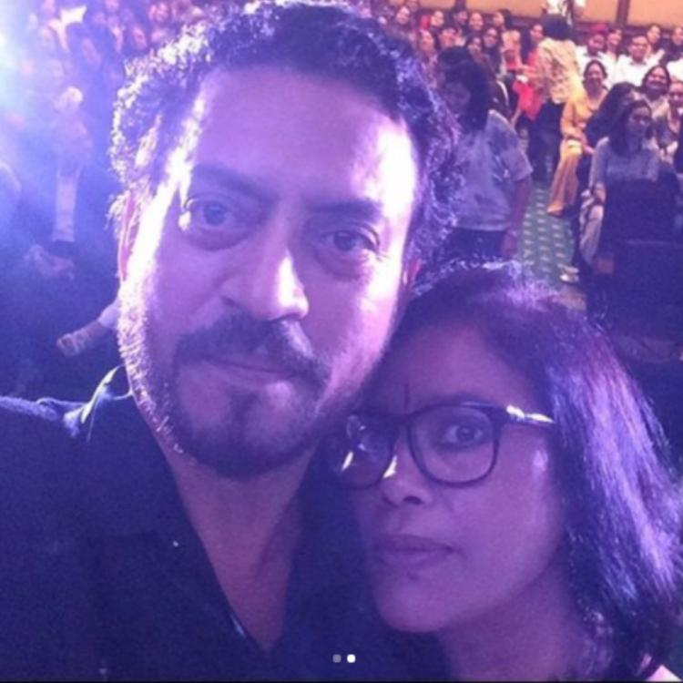 Babil Khan sums up 'Baba' Irrfan and 'Mamma' Sutapa Sikdar's 35 year journey from NSD with priceless PICS