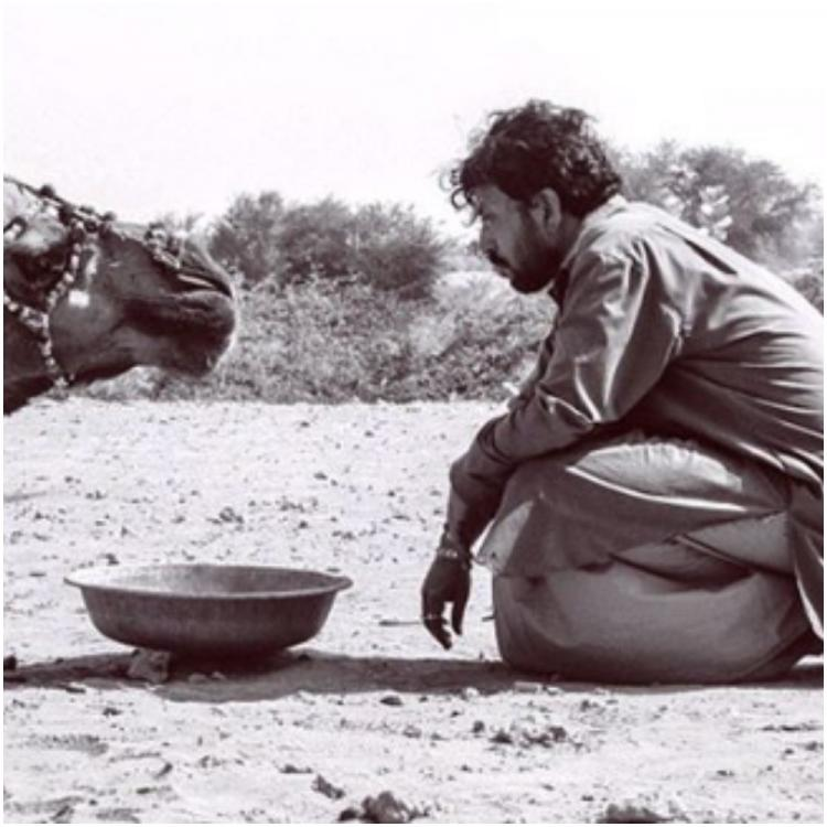 Irrfan Khan's son Babil says dad had connection with rain that 'only the desert could show' & drops an old pic