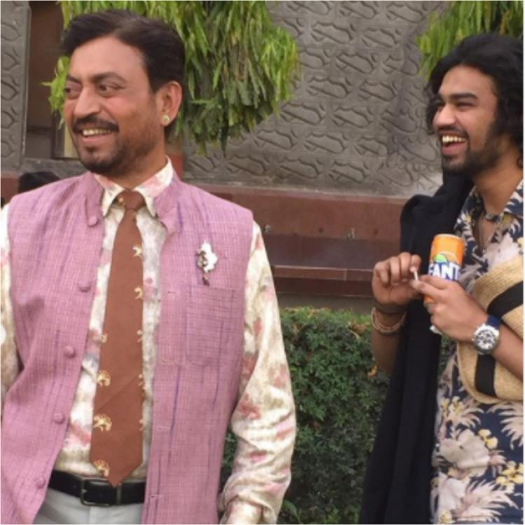 Irrfan's son Babil revisits Angrezi Medium pics as he's off to London: Last time I left, Baba was still there