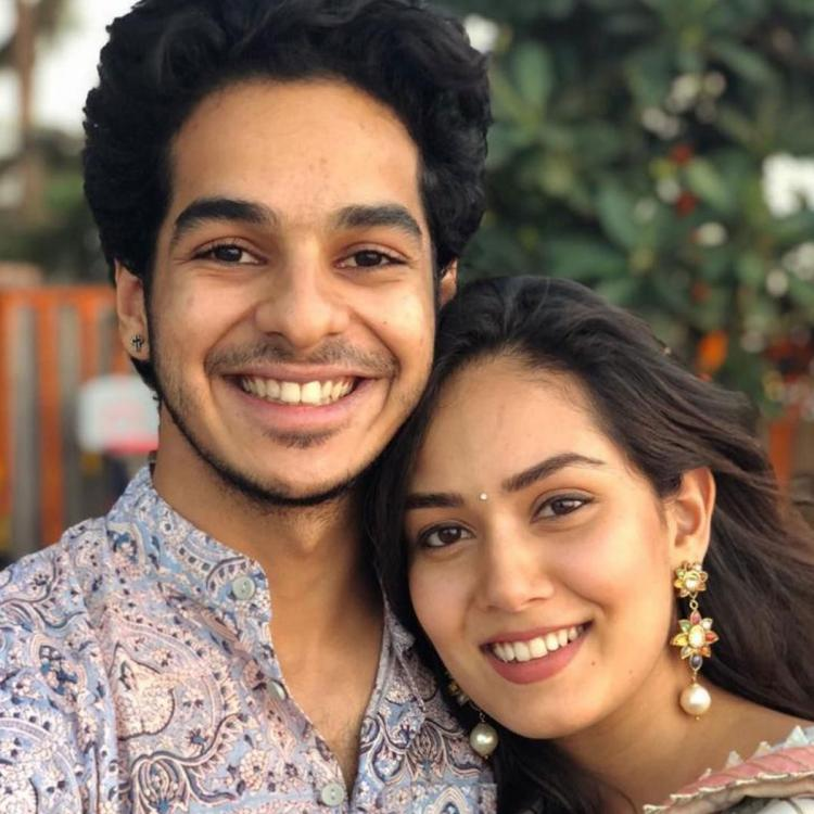 Ishaan Khatter showers birthday love on Shahid Kapoor's wife Mira Rajput with an adorable photo; Take a look