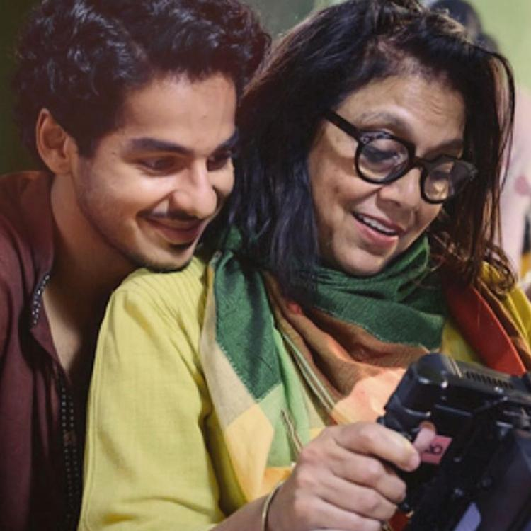 Ishaan Khatter's birthday wish for Mira Nair.