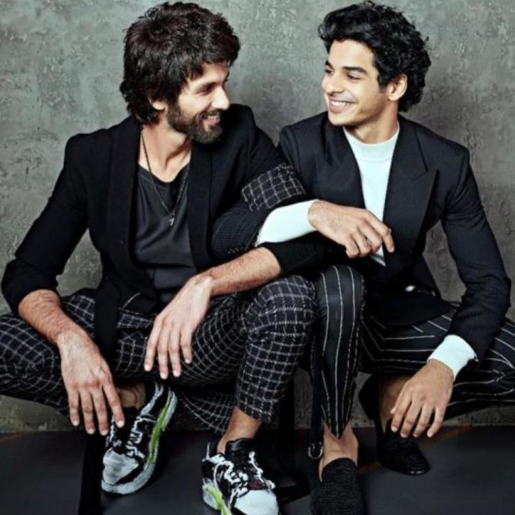 Ishaan Khatter reveals how he enters Shahid Kapoor's house; says you remove your shoes and go in real quiet