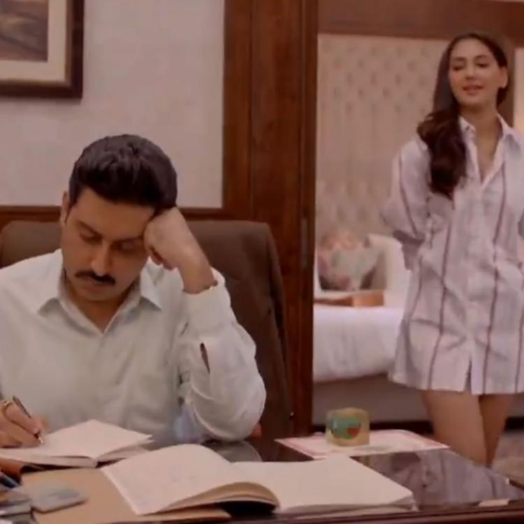 The Big Bull Song Ishq Namazaa: Abhishek Bachchan gives a glimpse of first track and it's all about love