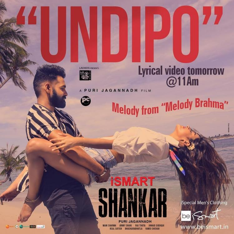 iSmart Shankar: Ram Pothineni & Nidhhi Agerwal's sizzling look from Undipo song will set your screens on fire