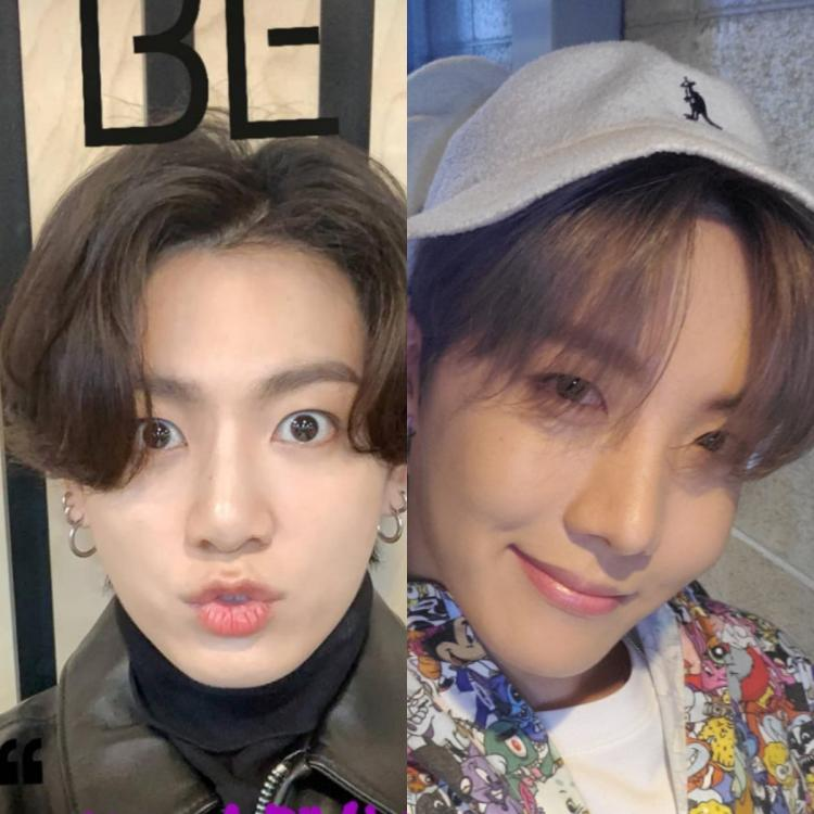 BTS members Jungkook and J Hope shower ARMY with love