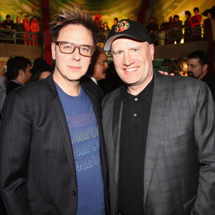 James Gunn REVEALS Marvel head Kevin Feige visited Suicide Squad sets; Shares photos from cast's table read
