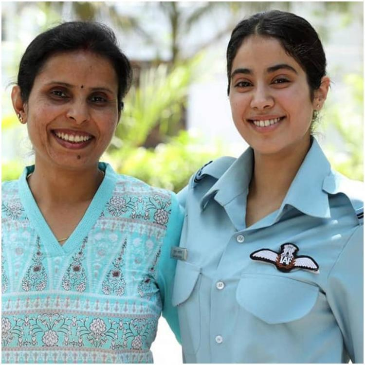 Gunjan Saxena Reveals Her Family Made Her Fearless Says I Had Support Of Iaf Pinkvilla