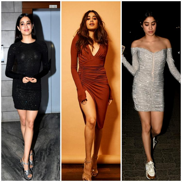 5 Times Janhvi Kapoor proved bodycon dresses are fab and classy