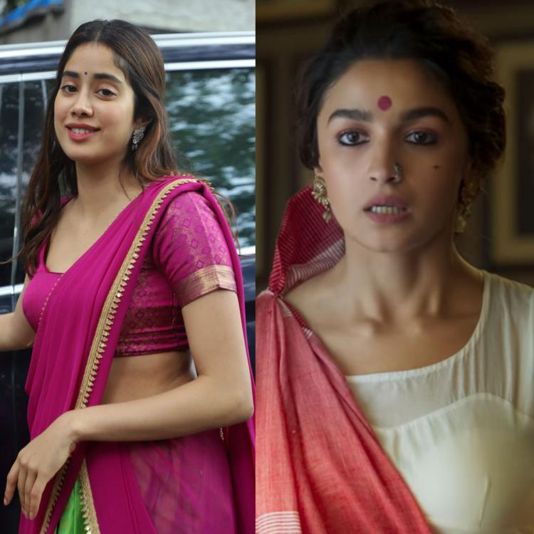 Janhvi Kapoor takes out time to check Gangubai Kathiawadi teaser amid Roohi promotions; SEE HER REACTION