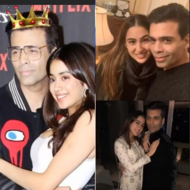 Janhvi Kapoor and Sara Ali Khan shower Karan Johar with love as they wish the filmmaker on his birthday
