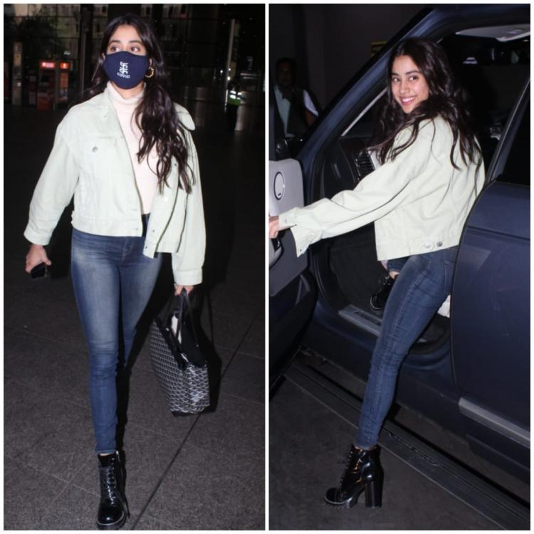 Janhvi Kapoor's cosy and chic airport look is making us miss the winters already; Yay or Nay?