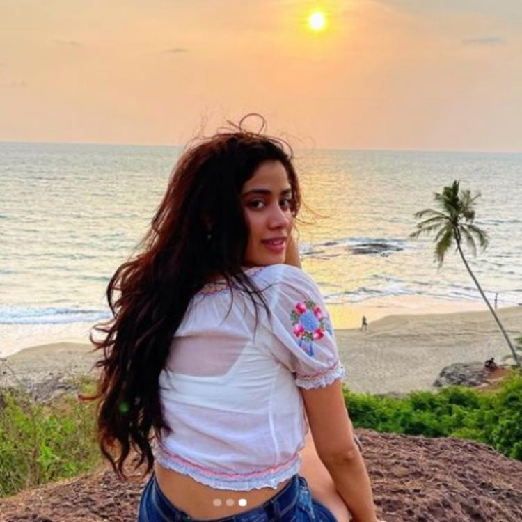 Earth Day 2021: Janhvi Kapoor posts PICS while enjoying nature; Says Sorry for every time I didn't value earth