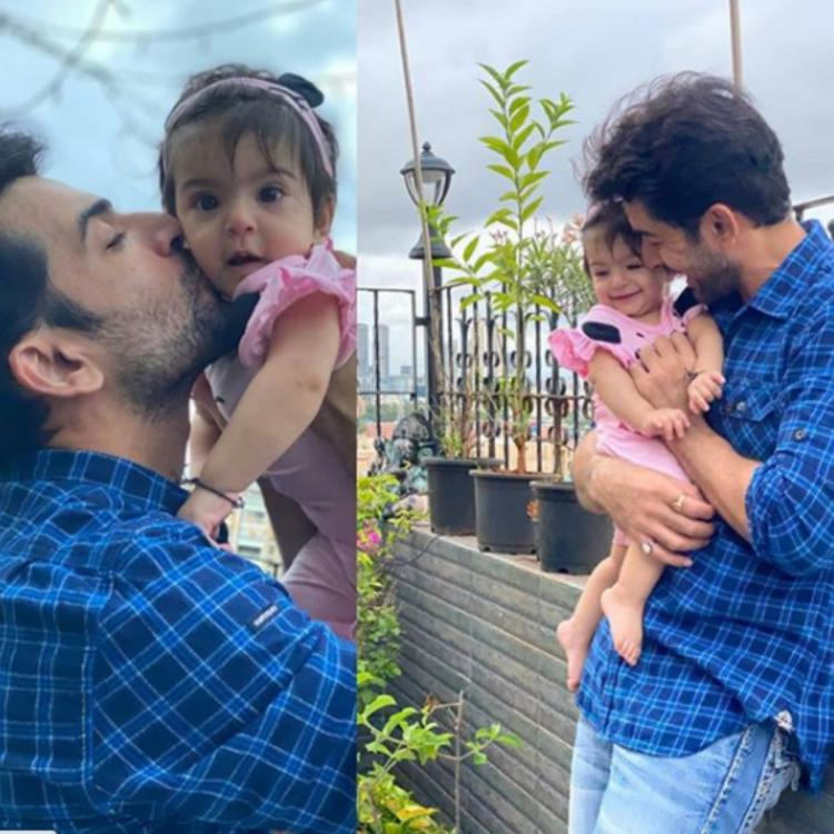 Jay Bhanushali's heartwarming daughter's day posts for his little angel's will melt your heart