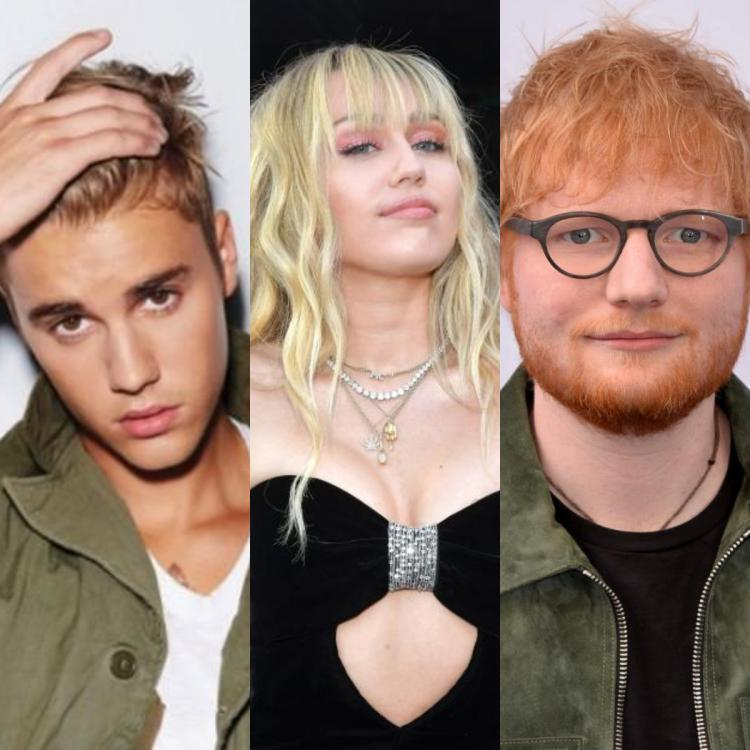 Miley Cyrus and Ed Sheeran come out to support Justin Bieber after his emotional post