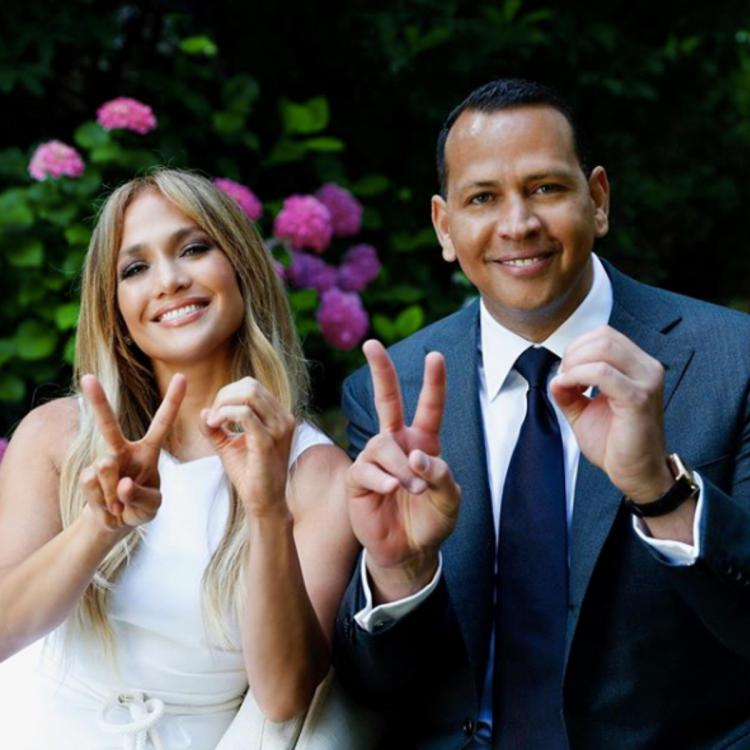 Jennifer Lopez and Alex Rodriguez share an inspiring message for the class of 2020: Never stop being a student