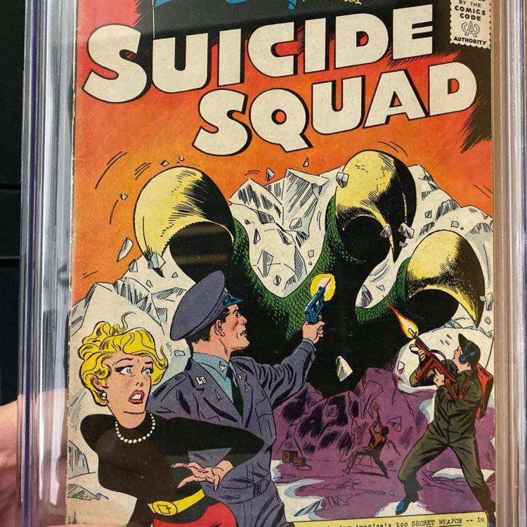 James Gunn kick starts the shoot of The Suicide Squad and receives THIS gift from his friend