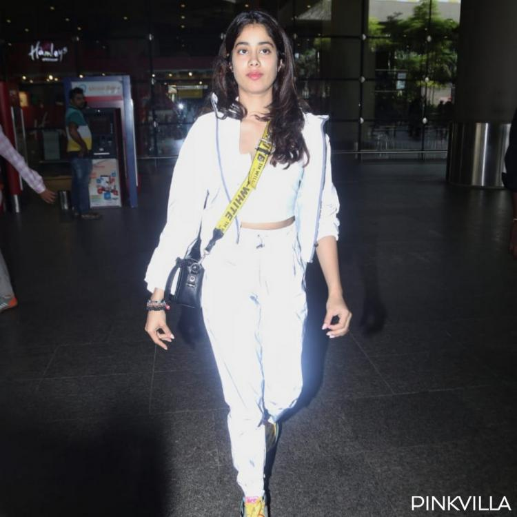 Janhvi Kapoor pulls off a cool & casual airport look as she returns post vacation with Khushi Kapoor; See pics