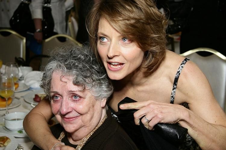 Jodie Foster's mother and manager Evelyn Brandy Foster dies at the age of 90