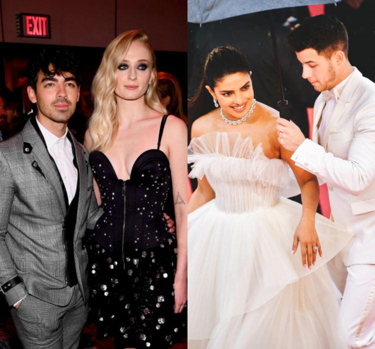 Joe Jonas Sophie Turner To Nick Jonas Priyanka Chopra Red Carpet Dressing Tips To Steal From Celeb Couples Pinkvilla