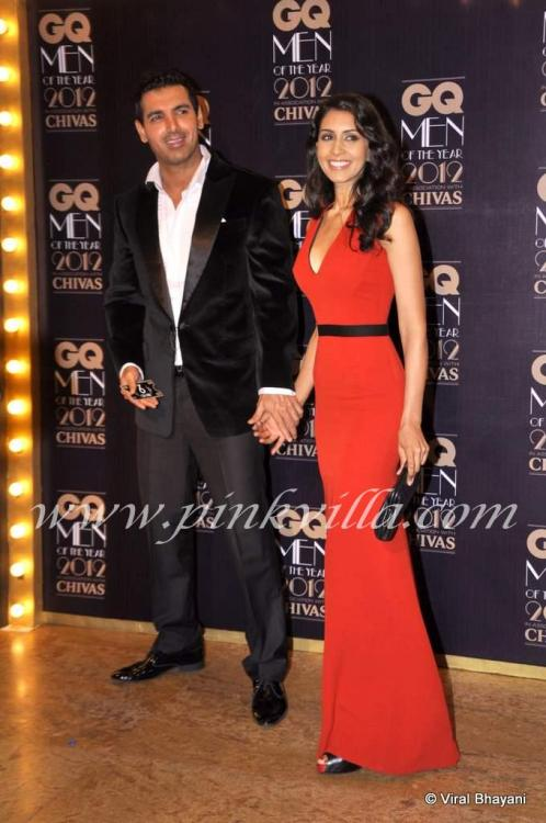 Photos,john abraham,Priya Runchal,GQ Men of the Year Awards 2012