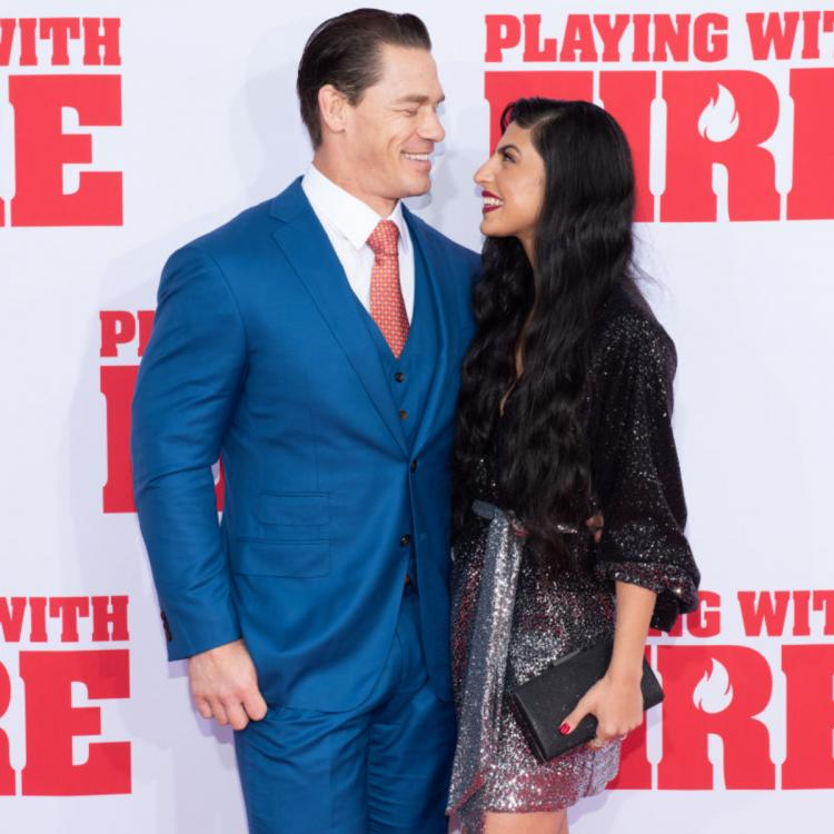 PHOTOS: John Cena cannot take his eyes off GF Shay Shariatzadeh during their first red carpet appearance