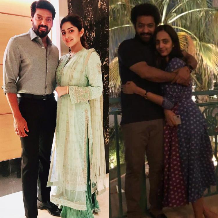 Jr NTR, Lakshmi to Arya, Sayyesha: South Indian couples who prove age is just a number when it comes to love
