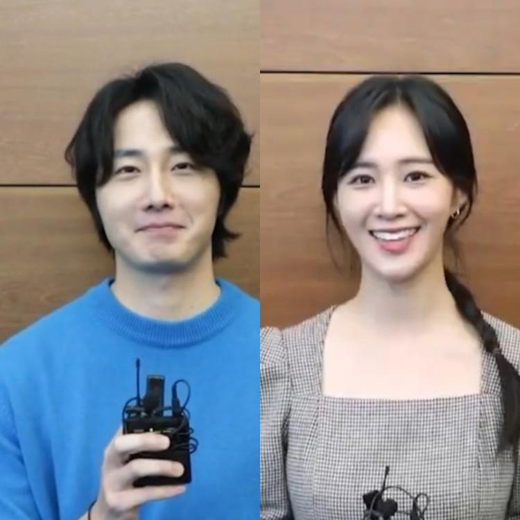 Jung Il Woo and SNSD's Yuri in the script reading of their upcoming historical drama, Bossam - Stealing Fate