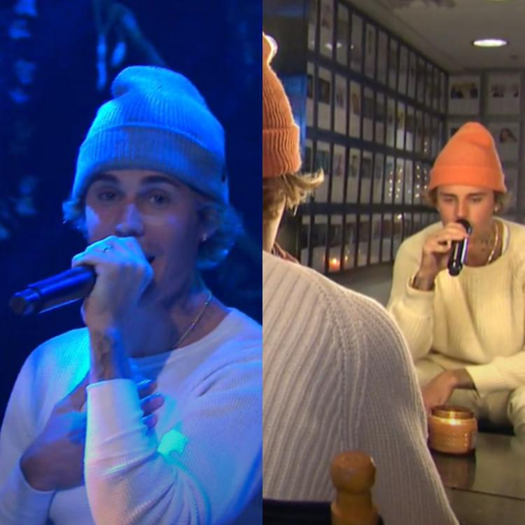 Justin Bieber performs Holy and Lonely on SNL