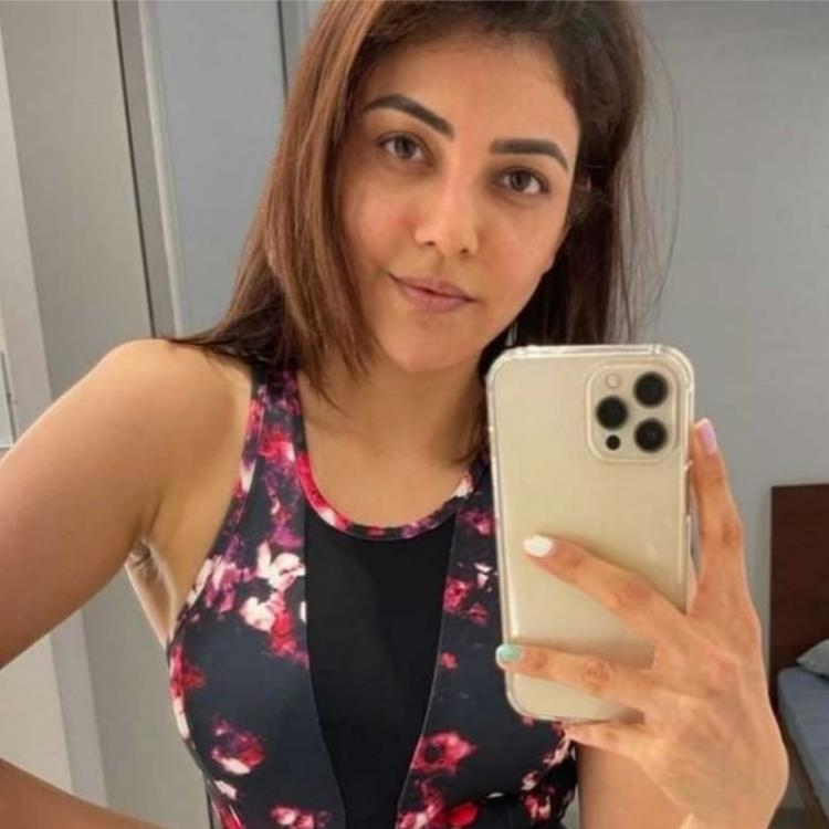 PHOTO: Kajal Aggarwal is gym ready as she flaunts her stylish workout outfit