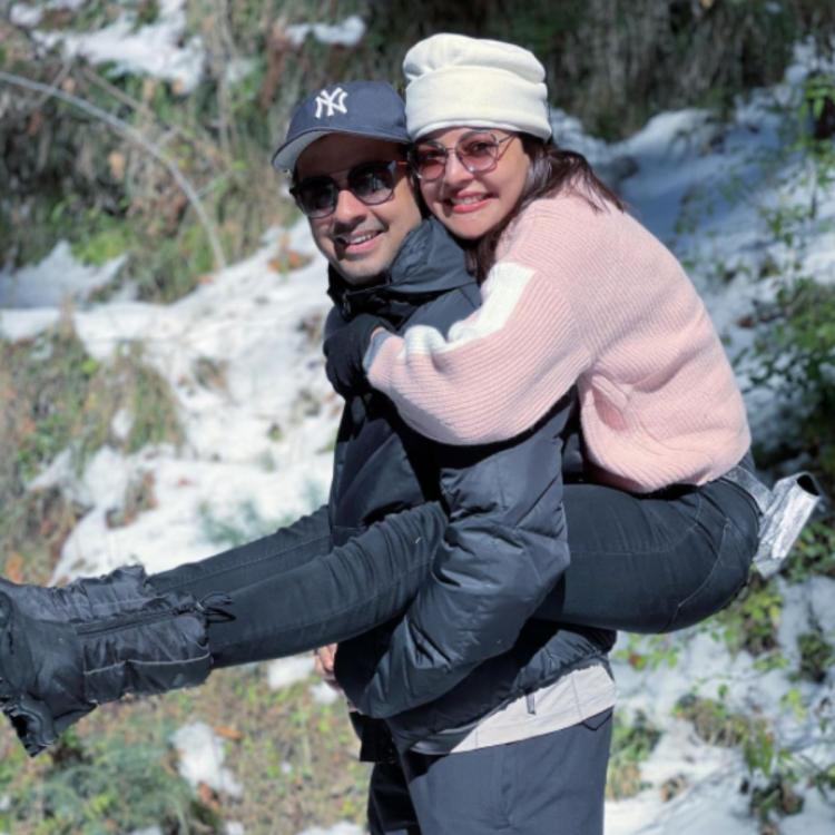 Welcome 2021: Kajal Aggarwal wishes fans on New Year as she shares an adorable PIC with husband Gautam Kitchlu
