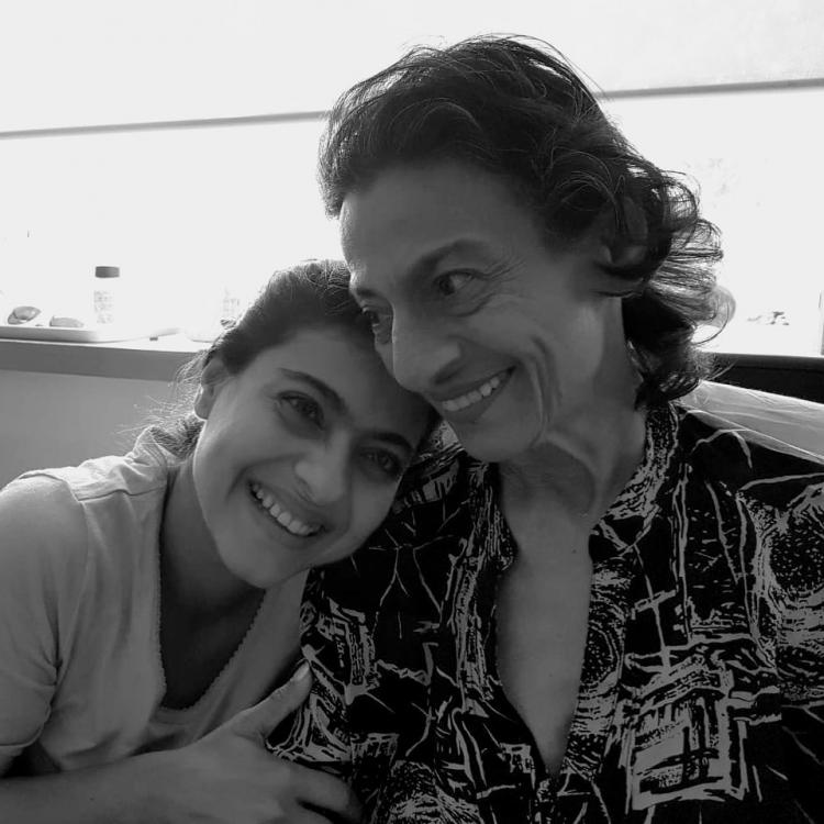 Kajol thanks everyone for praying for her mom Tanuja's health; shares a happy photo with her mother