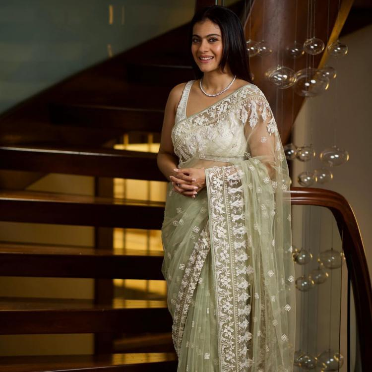Photo: Kajol looks mesmerising in a white saree in her latest Instagram pic