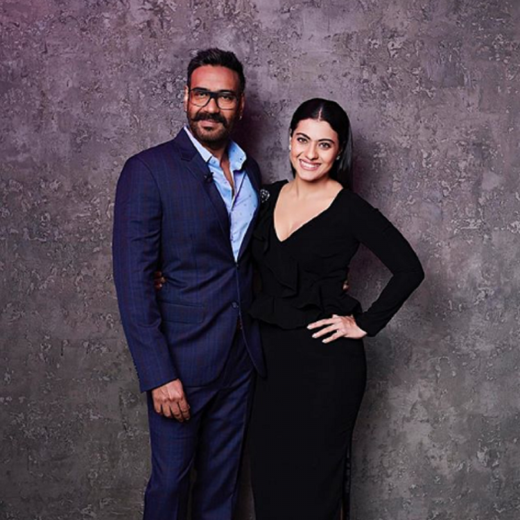 Kajol shares a family picture with hubby Ajay Devgn and kids Nysa and Yug from their road trip; View post