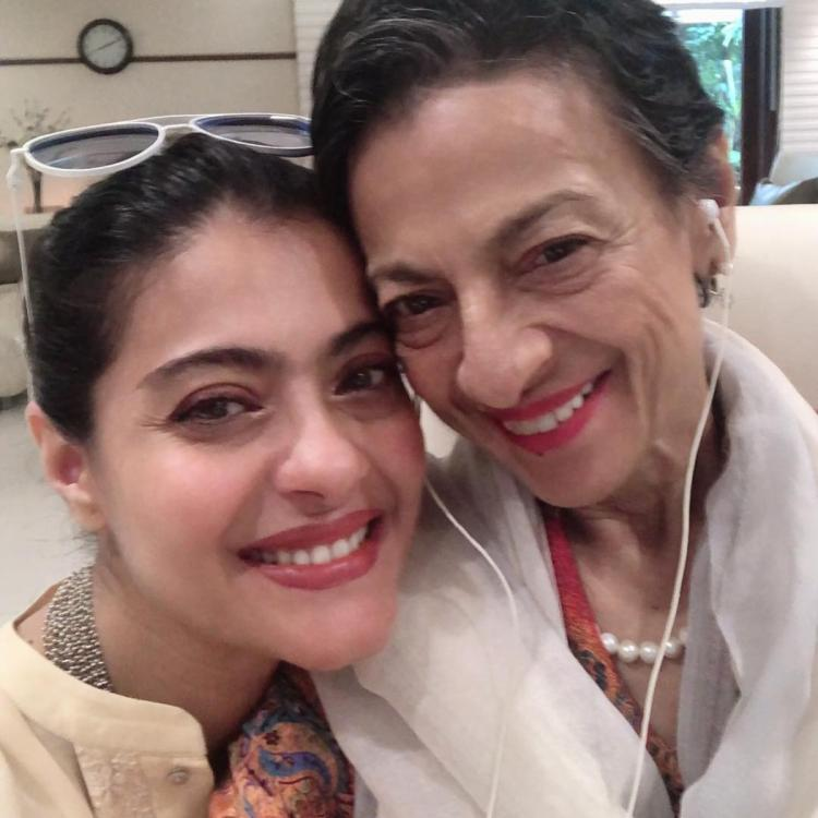 Kajol REVEALS why she is a 'good mom' as she wishes her mum Tanuja on Mother's Day; See POST