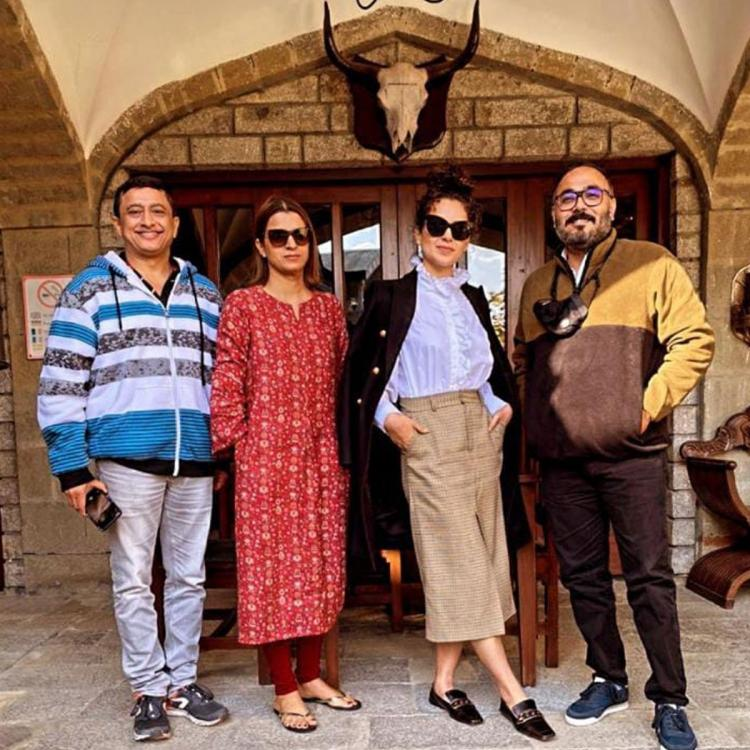 Kangana Ranaut begins workshops for Tejas; Says 'Pleased to start work with super talented director and coach'