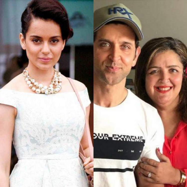 Kangana Ranaut REVEALS about her equation with Hrithik Roshan's sister Sunaina Roshan; Read on
