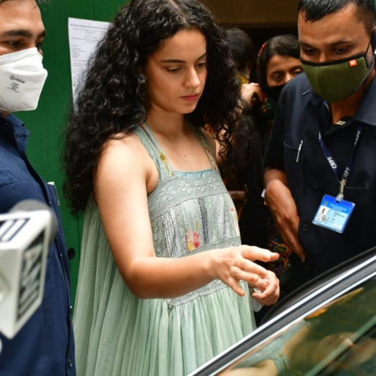 Kangana Ranaut meets Union Minister Ramdas Athawale a day after demolition of her office by BMC; See PHOTOS