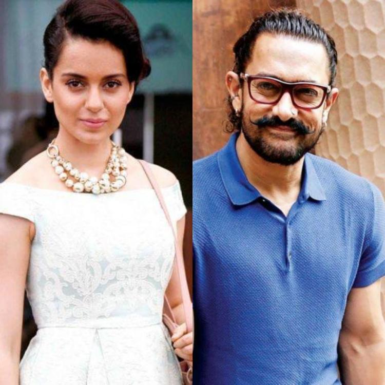 Kangana Ranaut on Aamir Khan's silence in Sushant's case: He worked with him in PK but didn't raise voice