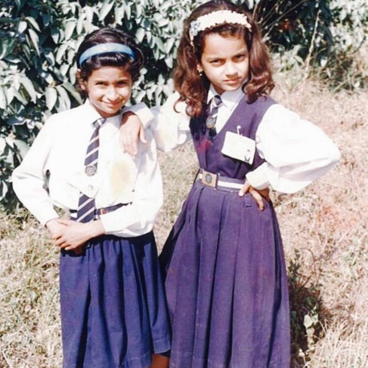 Kangana Ranaut revisits school days with a motivation post; Says 'Never let your mind dominate your feelings'