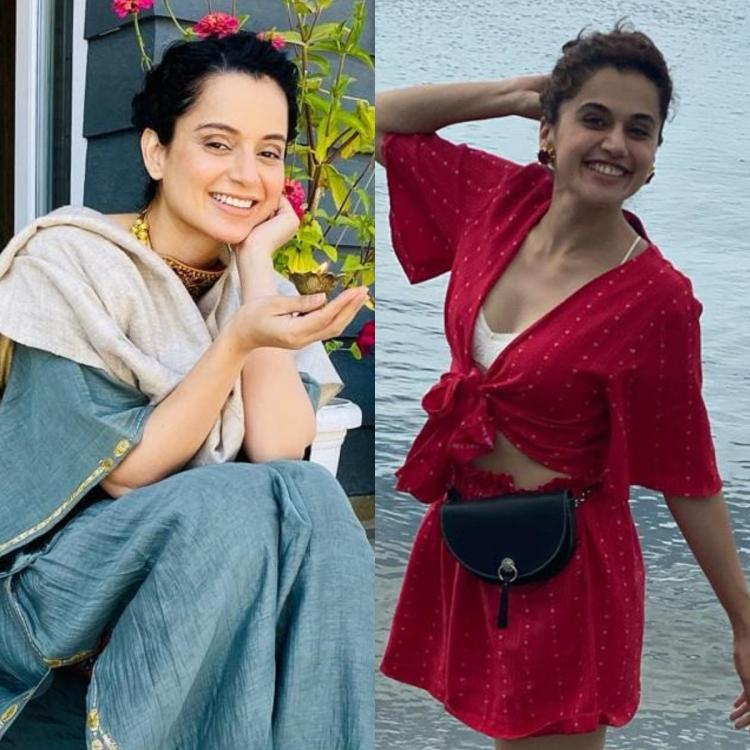 Kangana Ranaut's team tells Taapsee Pannu a solo hit like Queen, Manikarnika will make her an A lister