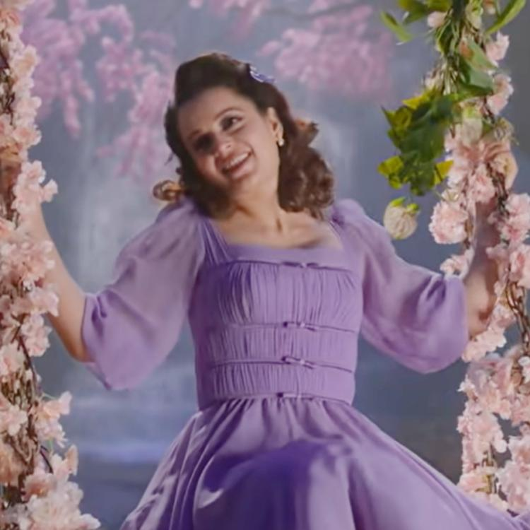 Kangana Ranaut worked really hard and rehearsed 'Chali chali' song for a month says 'Thalaivi' director