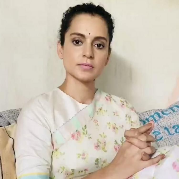 Kangana Ranaut's Twitter account suspended for violating rules.