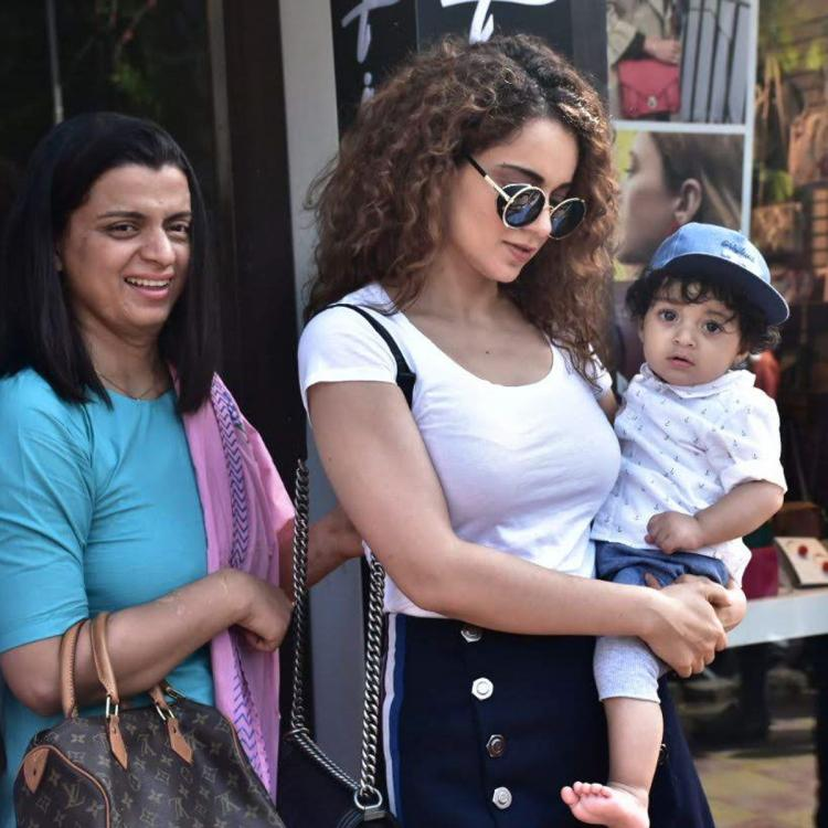 Kangana Ranaut pens a special note for Rangoli and Ajay on their anniversary
