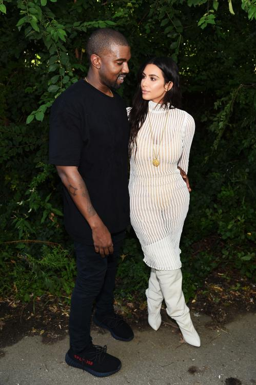 Kim Kardashian was seen breaking down during a trip to Wendy's with Kanye West in Cody, Wyoming.